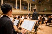 Blazer van een orkest